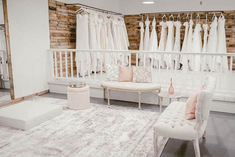 Bridal Boutique fitting room